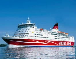 Viking Line // 24.01.2019 Nationale Staking In De Haven Van Stockholm